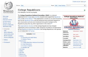 http://en.wikipedia.org/wiki/College_Republicans