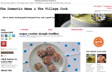 http://thevillagecook.com/sugar-cookie-dough-truffles/