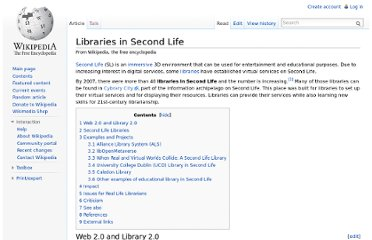 http://en.wikipedia.org/wiki/Libraries_in_Second_Life