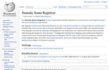 http://de.wikipedia.org/wiki/Domain-Name-Registrar