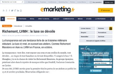 http://www.e-marketing.fr/Breves/Richemont-LVMH-le-luxe-se-devoile-41105.htm