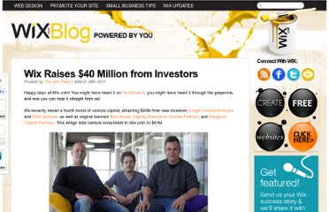 http://www.wix.com/blog/2011/03/wix-raises-40-million-from-investors/
