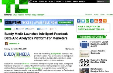 http://techcrunch.com/2011/09/18/buddy-media-launches-intelligent-facebook-data-and-analytics-platform-for-marketers/