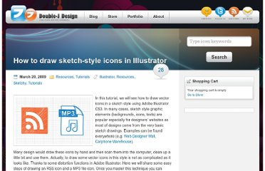 http://www.doublejdesign.co.uk/2009/03/how-to-draw-sketch-style-icons-in-illustrator/