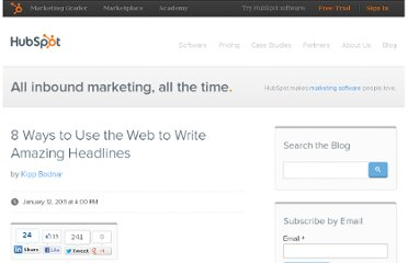 http://blog.hubspot.com/blog/tabid/6307/bid/8387/8-Ways-to-Use-the-Web-to-Write-Amazing-Headlines.aspx