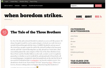 http://whenboredomstrikes.blog.com/2011/07/25/the-tale-of-the-three-brothers/