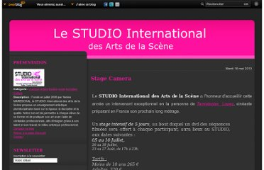 http://studiointernational.over-blog.com/article-stage-ca-50653048.html