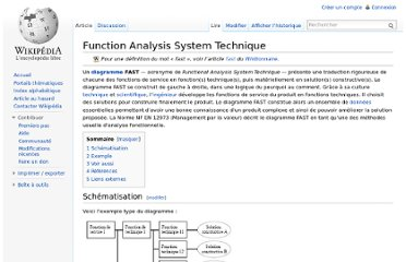 http://fr.wikipedia.org/wiki/Function_Analysis_System_Technique