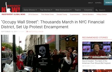 http://www.democracynow.org/2011/9/19/occupy_wall_street_thousands_march_in
