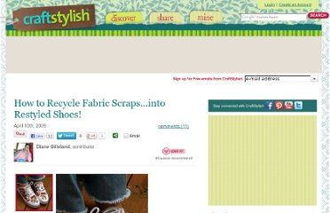 http://www.craftstylish.com/item/44641/how-to-recycle-fabric-scrapsinto-restyled-shoes