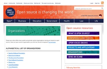 http://opensource.com/resources/organizations