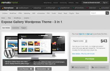 http://themeforest.net/item/expose-gallery-wordpress-theme-3-in-1/106184