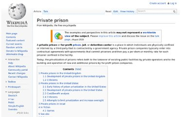 http://en.wikipedia.org/wiki/Private_prison