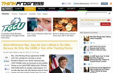 http://thinkprogress.org/economy/2011/09/19/322405/gop-rep-whines-400k/