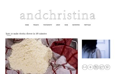 http://andchristina.blogspot.com/2010/12/how-to-make-ricotta-cheese-in-10.html