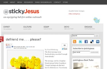 http://stickyjesus.com/2011/08/defriend-me-please/