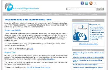 http://www.path-to-self-improvement.com/self-improvement-tools.html