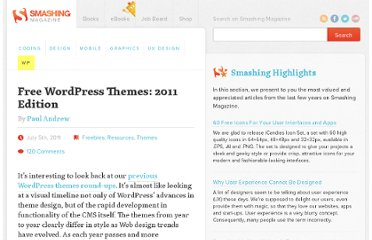 http://wp.smashingmagazine.com/2011/07/05/free-wordpress-themes-2011-edition/