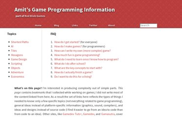 http://www-cs-students.stanford.edu/~amitp/gameprog.html