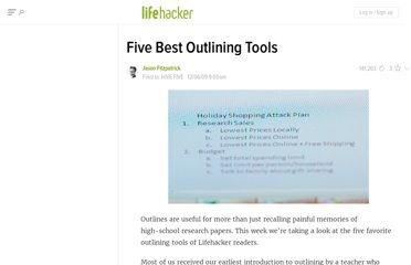 http://lifehacker.com/5419988/five-best-outlining-tools