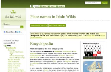 http://www.thefullwiki.org/Place_names_in_Irish