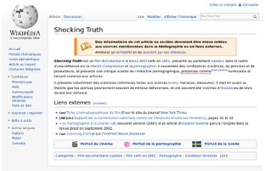 http://fr.wikipedia.org/wiki/Shocking_Truth