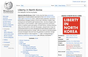 http://en.wikipedia.org/wiki/Liberty_in_North_Korea