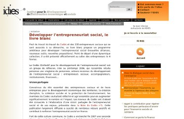 http://www.idies.org/index.php?post/Developper-lentrepreneuriat-social-le-livre-blanc