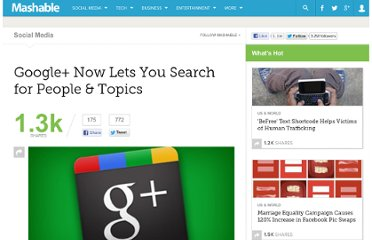 http://mashable.com/2011/09/20/google-plus-search/