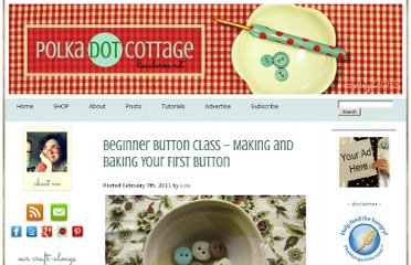http://www.lisaclarke.net/2011/02/07/bbc-lesson-one-%e2%80%93-introduction-to-polymer-and-your-first-button/