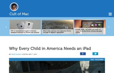 http://www.cultofmac.com/93887/why-every-child-in-america-needs-an-ipad/