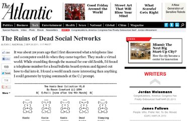 http://www.theatlantic.com/technology/archive/2011/09/the-ruins-of-dead-social-networks/245397/#.TnjqN5cgT00.hackernews
