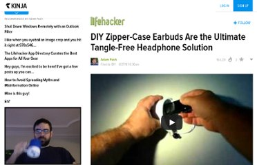 http://lifehacker.com/5623772/diy-zipper+case-earbuds-are-the-ultimate-tangle+free-headphone-solution