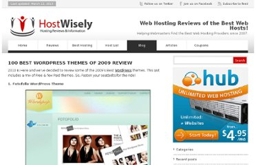 http://hostwisely.com/blog/100-best-wordpress-themes-of-2009/