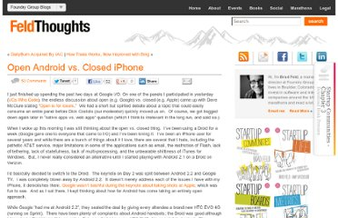 http://www.feld.com/wp/archives/2010/05/open-android-vs-closed-iphone.html