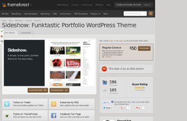 http://themeforest.net/item/sideshow-funktastic-portfolio-wordpress-theme/550344