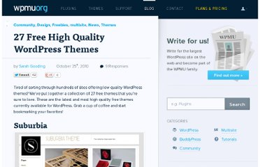 http://wpmu.org/27-free-high-quality-wordpress-themes/