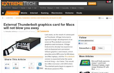 http://www.extremetech.com/computing/92160-external-thunderbolt-graphics-card-for-macs-will-not-blow-you-away