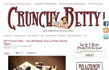http://www.crunchybetty.com/diy-picture-tiles-you-will-never-buy-a-photo-frame-again
