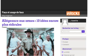 http://blogs.lesinrocks.com/fauxetusagedefaux/2011/09/21/allegeance-aux-armes-10-idees-encore-plus-ridicules/