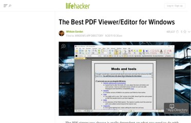 http://lifehacker.com/5842130/the-best-pdf-viewereditor-for-windows