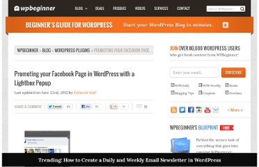 http://www.wpbeginner.com/plugins/promoting-your-facebook-page-in-wordpress-with-a-ligthbox-popup/