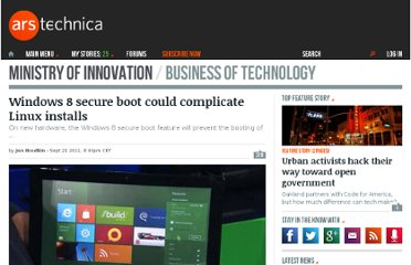 http://arstechnica.com/business/news/2011/09/windows-8-secure-boot-will-complicate-linux-installs.ars