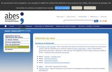 http://www.abes.fr/Theses/Selection-de-sites
