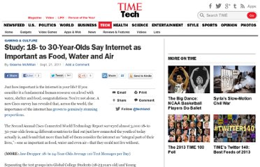 http://techland.time.com/2011/09/21/study-18-to-30-year-olds-say-internet-as-important-as-food-water-and-air/
