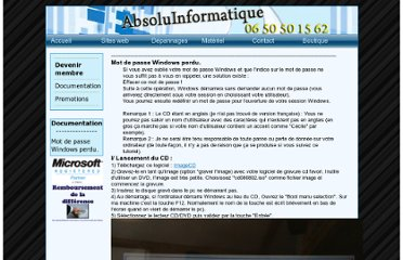 http://www.absoluinformatique.fr/4documentation/index.php?id=1
