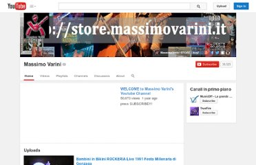http://www.youtube.com/user/massimovarini