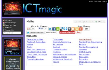 http://ictmagic.wikispaces.com/Maths
