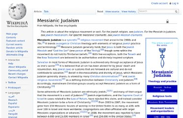 http://en.wikipedia.org/wiki/Messianic_Judaism