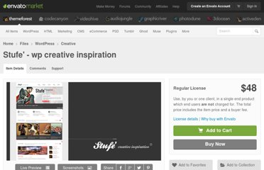 http://themeforest.net/item/stufe-wp-creative-inspiration/405483